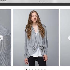 Lululemon Iconic Sweater  Wrap